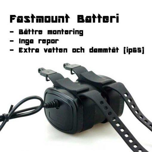 Fastmount batteri