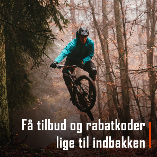 Tilmeld dig vores mailingliste for mountainbikere